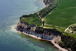 Slavic ring fortress at Cape Arkona, Rügen Island