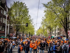 Queen's Day in Amsterdam, 2013