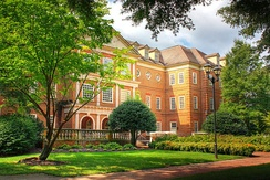 Regent University - Robertson Hall, home to the School of Law and Robertson School of Government