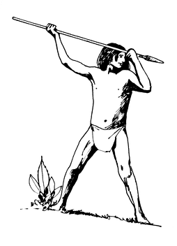 Spears were used by the Muisca for hunting and fishing and in battle
