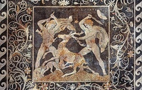 The Stag hunt mosaic, c. 300 BC, Pella, Greece