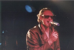 Original vocalist Layne Staley performing with Alice in Chains at The Channel in Boston in 1992.