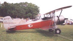 Stearman 4-D mailplane of 1931 in markings of Western Air Express