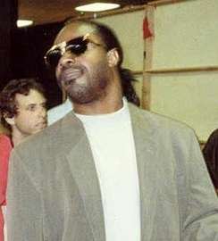 Stevie Wonder at the 1990 Grammy Awards