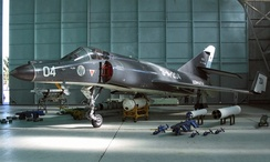 French-built Super Étendard of the Argentine Naval Aviation
