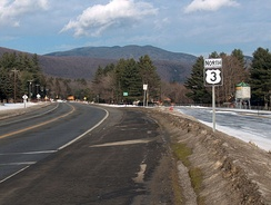 US 3 in Lincoln, New Hampshire