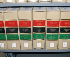 A few volumes of the Statutes at Large