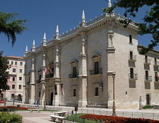 Palacio de Santa Cruz, this building currently houses two museums and also is the rectory headquarters of the University of Valladolid.