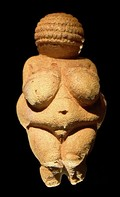 Venus of Willendorf statuette from the Upper Palaeolithic period