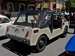Volkswagen Country Buggy rear view