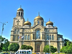Cathedral of the Dormition of the Mother of God in Varna.