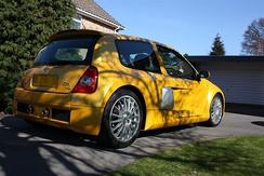 Renault Clio V6 rear view (Phase 2)