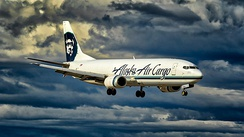 Alaska Airlines was the first airline to have a 737-400 converted to a freighter.