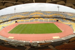 A view of Borg El Arab Stadium