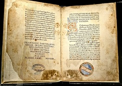 Corpus Hermeticum: first Latin edition, by Marsilio Ficino, 1471, at the Bibliotheca Philosophica Hermetica, Amsterdam.