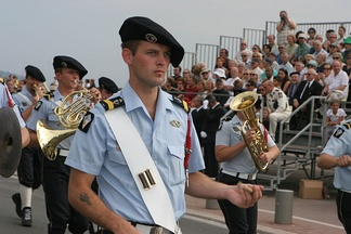 Drummer of the French Chasseurs alpins, 2007