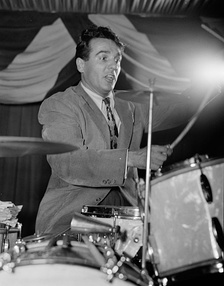 Gene Krupa was the first jazz drummer to lead his own big band (1946)