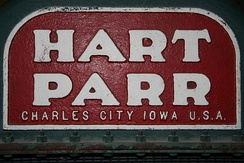 Hart-Parr nameplate