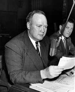 Hugh Fulton served as chief counsel until August 1944.