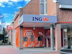 An ING Bank in Nieuw-Vennep, the Netherlands