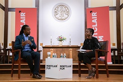 Ibram X. Kendi presenting his new book How to Be an Antiracist at Unitarian Universalist Church located in Montclair, New Jersey, on August 14, 2019