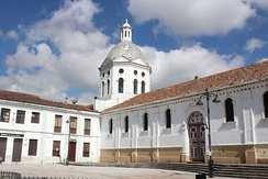Iglesia de San Sebastián church in Cuenca