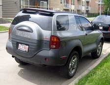 Isuzu VehiCROSS rear