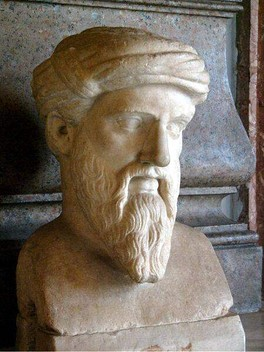 The Greek religious teacher Pythagoras (570 BC – 495 BC) is said to have advocated vegetarianism, but it is more likely that he only prohibited his followers from consuming certain kinds of meat.[35] Later Pythagoreans did practice various forms of vegetarianism.[35][36]