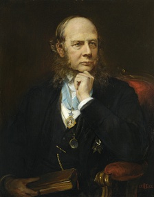 Sir Henry James Sumner Maine, by Lowes Cato Dickinson, 1888.