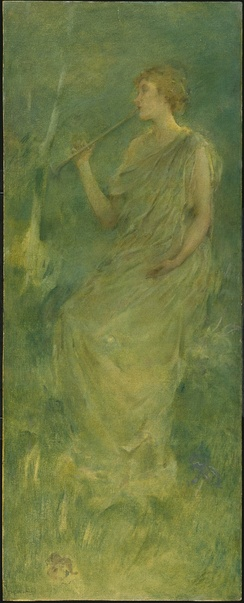 Music by Thomas Dewing, ca. 1896- 1900. Brooklyn Museum