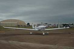 DA40 of USAFA at RIAT 2010.