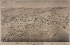 San Marcos in 1881
