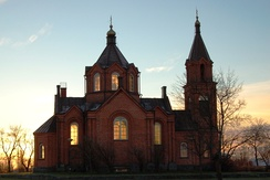 The St. Nicholas Church in Vaasa (1862).