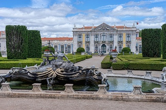 Palace of Queluz, where the Convention of Sintra was signed.