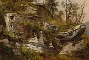 1860Rocky Cliff, c. 1860, Reynolda House Museum of American Art