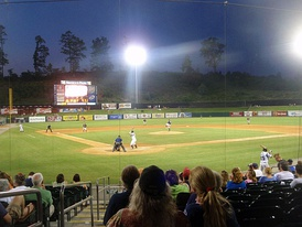 Smokies Stadium, home of the Tennessee Smokies of the Double-A South's North Division