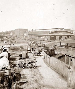 Antebellum Atlanta: State Square and the first Union Station