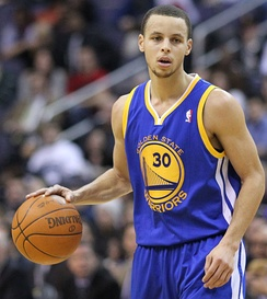 Stephen Curry is one of the best scoring point guards in the NBA.