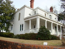 James B. Simmons House in Stephens County, Georgia
