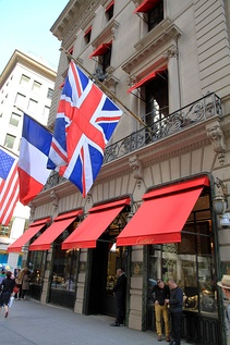 Cartier is one of several premier retail establishments located on Fifth Avenue