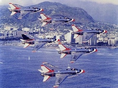 F-100 Super Sabre Thunderbirds, 1966