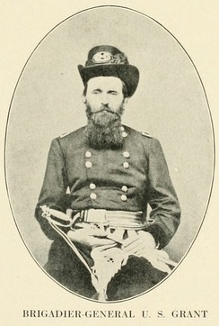 Ulysses S. GrantFrémont put Grant in command of the Union advance to secure the Mississippi River and split the Confederacy in two.