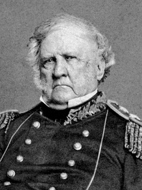 Winfield Scott, the unsuccessful Whig candidate in the 1852 presidential election