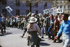 Protests against the war in Washington, D.C. on 24 April 1971