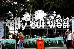 Entrance to the Way Out West Festival