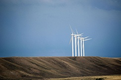 Wind farm in Uinta County