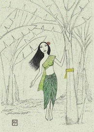 Nang Tani, the female ghost of Thai folklore that haunts banana plants