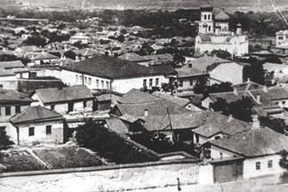 Казанская церковь и панорама Луганска.