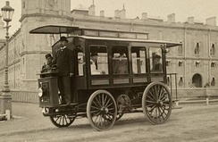 Hippolyte Romanov's electric bus in Gatchina