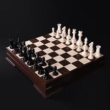 Точная копия шахмат в стиле «Стаунтон»